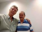 Adalberto com o Prof. Arq. Wilson J. C Silveira