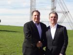 Ricardo M. Brandão - Presidente do Conselho da BRAMETAL e Peter J. Sandore - presidente e CEO da Sabre Industrie