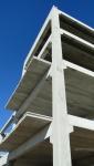 Torre para reservatórios e detalhe das lajes.